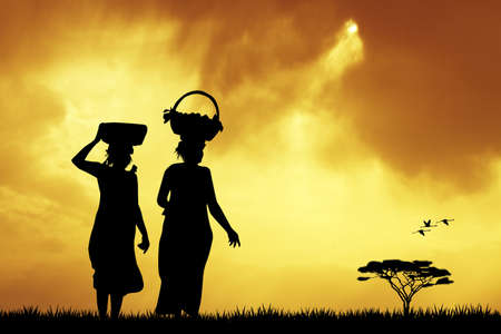 africa people: African women