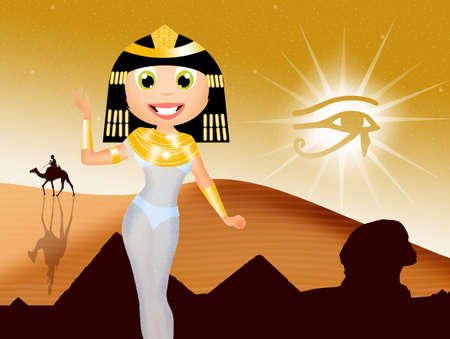 cleopatra: Cleopatra cartoon