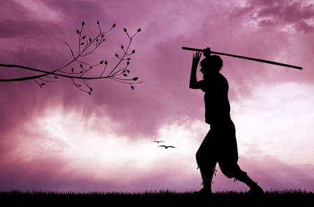 mercenary: Combat at sunset