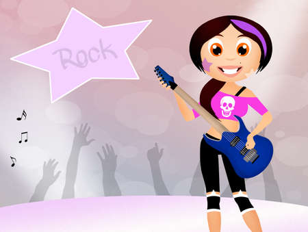 rock star photo