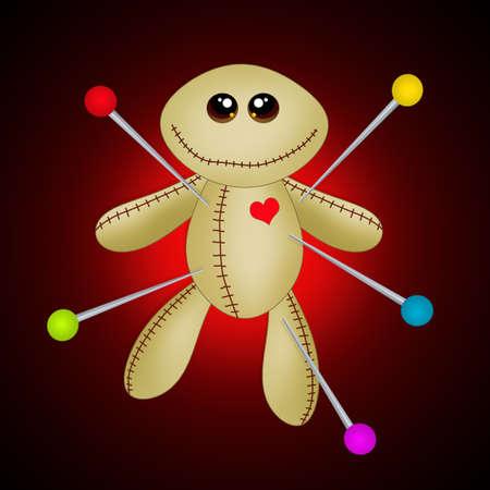 voodoo doll: Voodoo doll Stock Photo