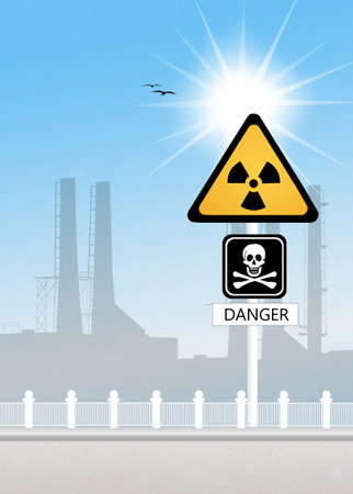 barrel radioactive waste: radiation risk