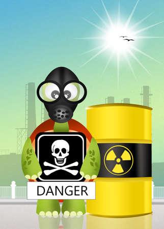 radiation hazard photo