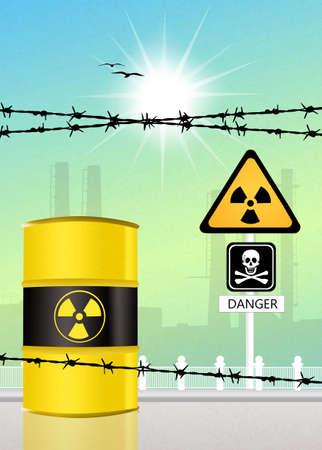 radiation risk photo