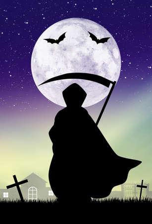 sense: Der Mann mit der Sense von Halloween