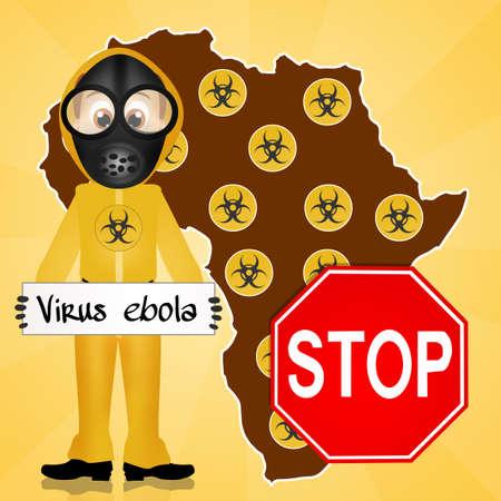 death s head: stop ebola virus