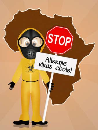 deadly danger sign: Alert ebola virus