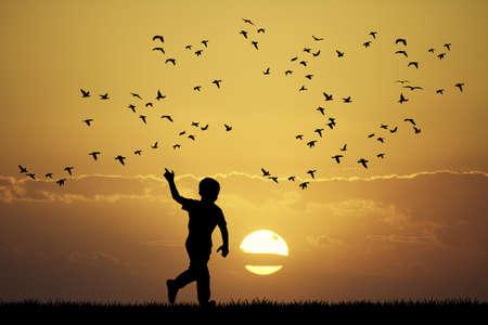 koppel van vogels
