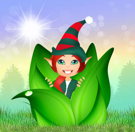 ear bud: elf in the bud
