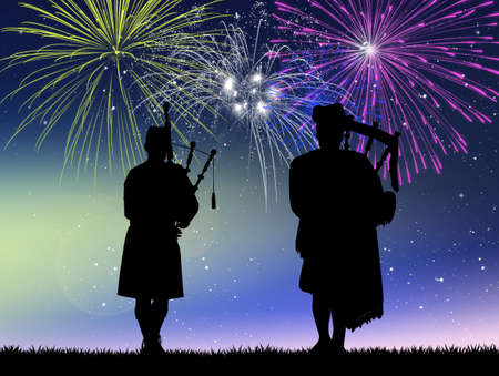 pipers: pipers in concert for the New Year