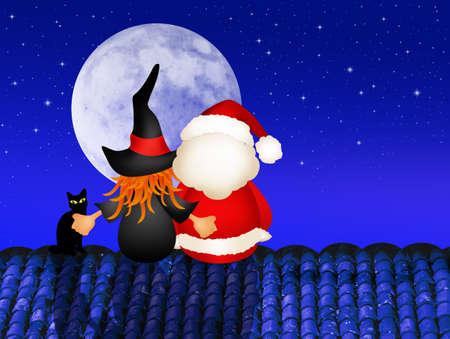 Epiphany and Santa Claus photo