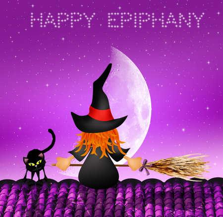 epiphany: Happy Epiphany Stock Photo