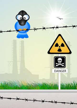 radiacion: peligro de radiaci�n