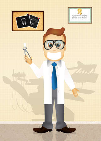 extracting: dentist Stock Photo