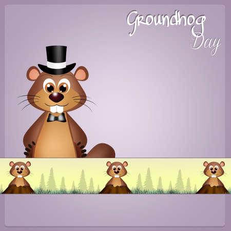 groundhog: Groundhog Day