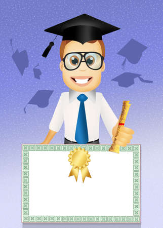 scholastic: illustration of degree