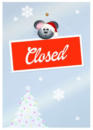 shop for animals: closed for holidays