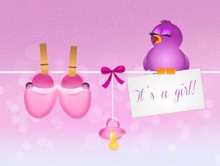 was born a female
