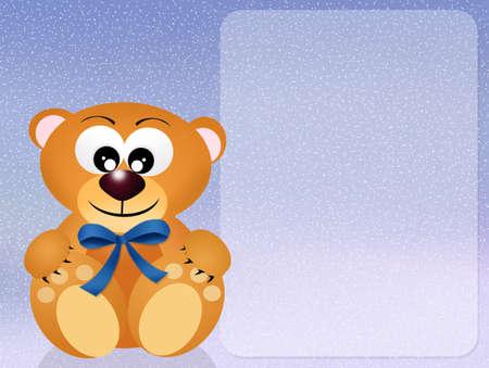 teddy bear for boy photo