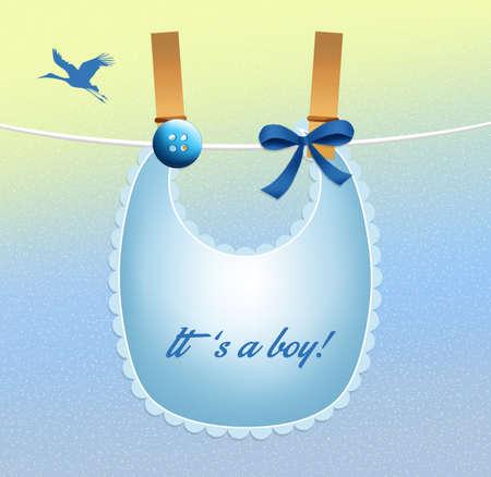 bib for baby boy photo