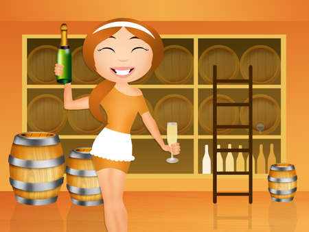 hogshead: tasting the wine