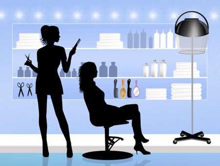 coiffeur: hairdresser