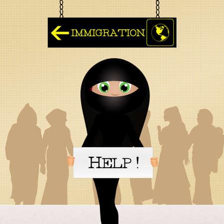 immigrate: help immigrants