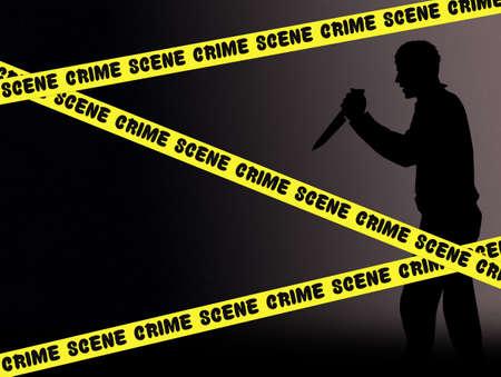 crime: crime scene Stock Photo