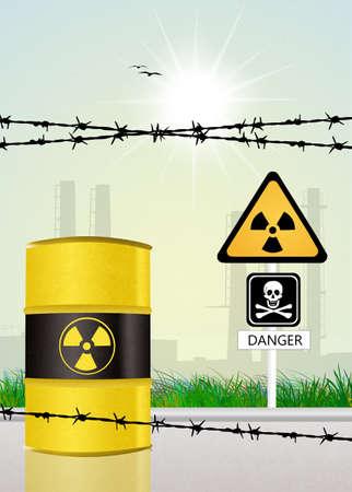 radiation hazard risk photo