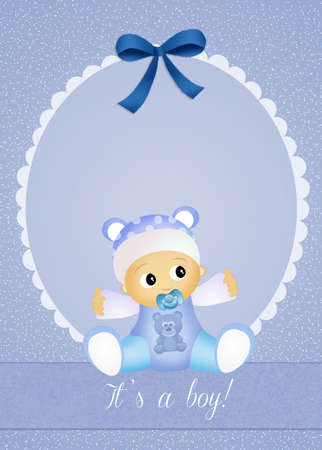 it s a boy: It s a boy! Stock Photo