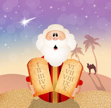 commandments: Ten commandments concept  Stock Photo