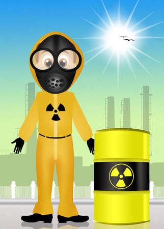 radiation: danger radiation