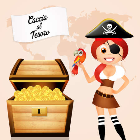 booty pirate: treasure hunt