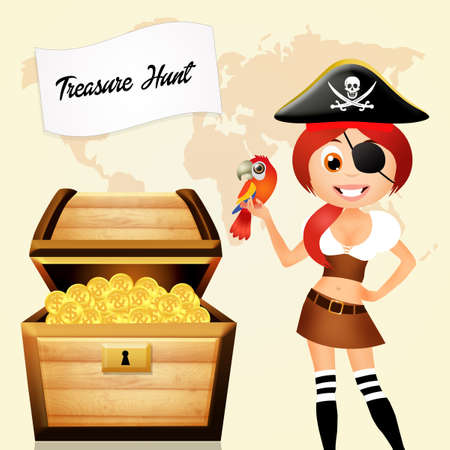 treasure hunt: treasure hunt