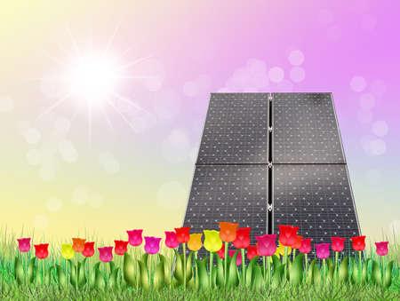 ambience: Solar panel