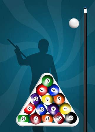 billiards: Billiards Stock Photo