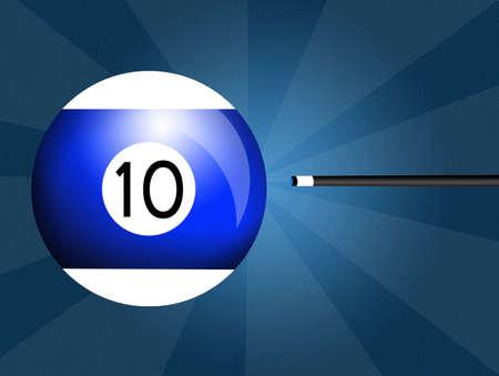 billiards: Billiards ball