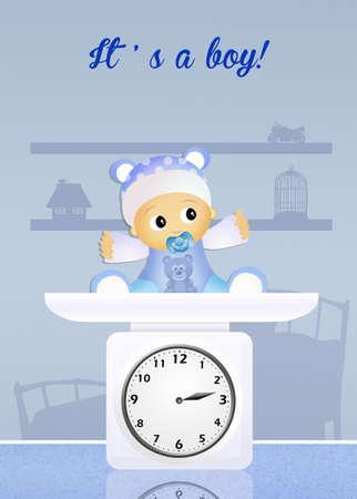 pediatrician: baby scales