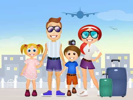 family holiday: family holiday