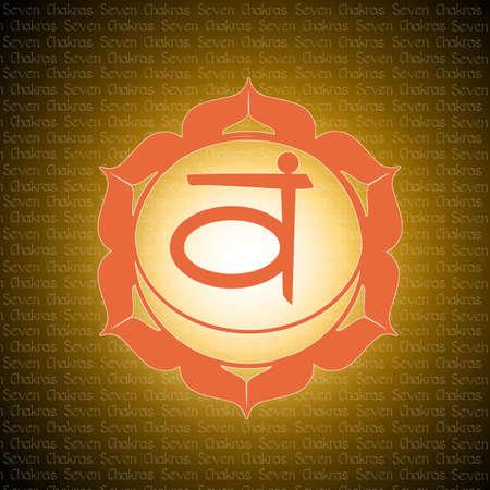 sahasrara: sacral chakra