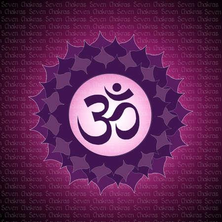 anahata: crown chakra