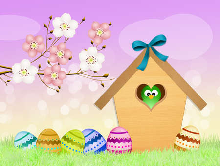 outdoor event: Easter eggs