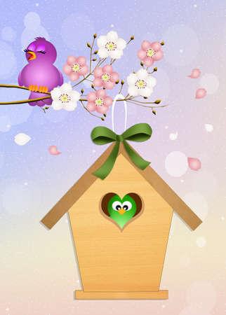 outdoor event: birdhouse