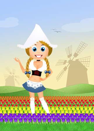 dutch girl: Dutch girl