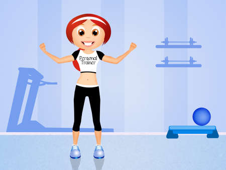 personal trainer girl