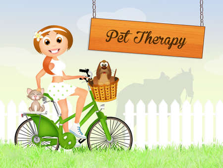 pet therapy photo