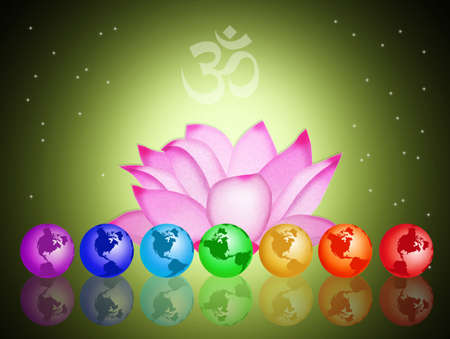 sahasrara: Seven Chakras