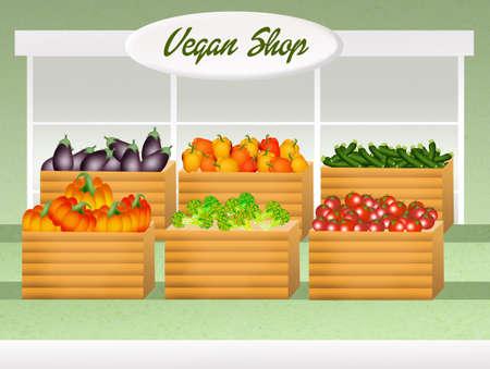 vegan: vegan shop