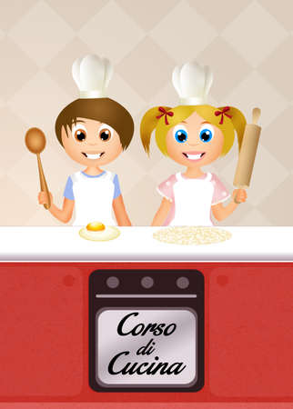 for children: cooking class for children