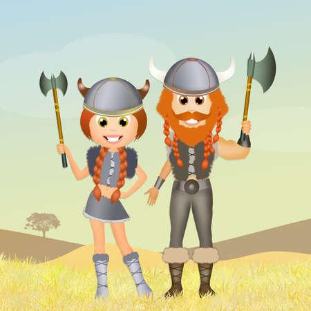 vikings: tiles of Vikings